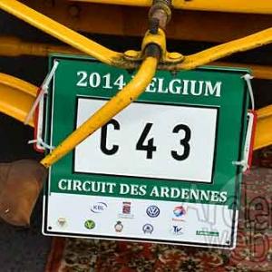 plaque du Circuit des Ardennes