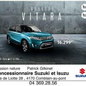 nouvelle Vitara de Suzuki