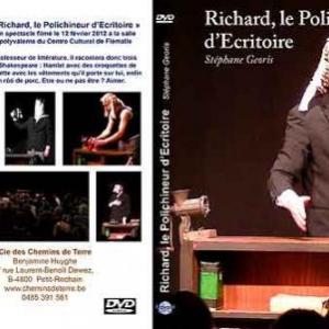 pochette DVD Stephane Georis dans Richard, le Polichineur d'Ecritoire