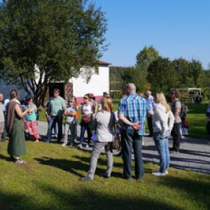 Journees du Patrimoine pour les jardins et les vignes de Malagne