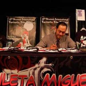 Le stand de Miguel Zuleta
