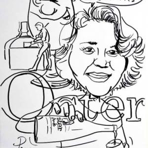 caricature brasserie Oster