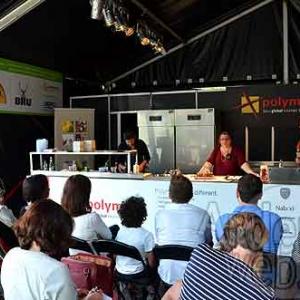 Les Epicuriales 2015 de Liege. Le plus grand restaurant a ciel ouvert