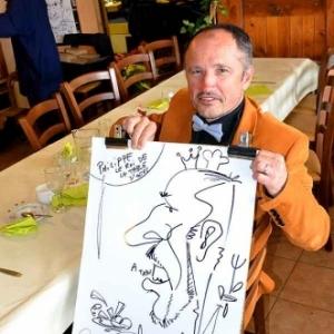 Caricature Jose Michel-4467