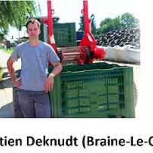 Inno Potato Award. Sebastien Deknudt (Braine-Le-Comte)