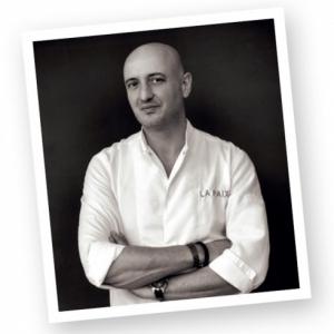 David Martin du Restaurant La Paix. Anderlecht.