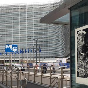 Biennale de l'Image Possible, BIP2020. Les_7_peches_du_capitalisme-Orgueil__63-100-xylographie-Commission_Europeenne