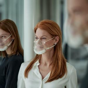 Weimat lance un masque transparent, durable et anti-buée