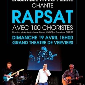 Ensemble avec Pierre Rapsat Affiche