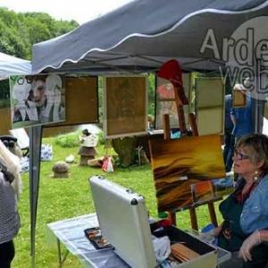Achouffe, village des artistes 2017-photo 3695