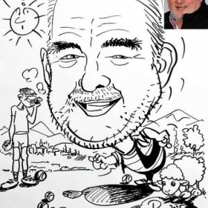 caricature petanque