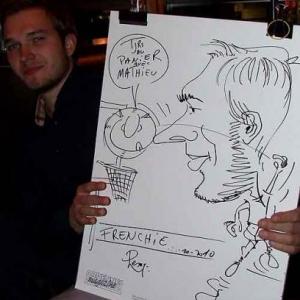 Caricature au Frenchie Restaurant de Luxembourg-7034