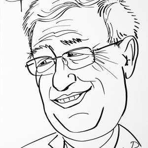 Pierre Boulanger, caricature