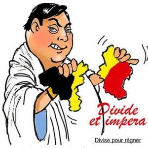 Bart De Wever une caricature de Jean-Marie Lesage