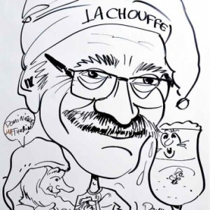 caricature de Dominique MATHURIN