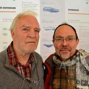 Damuzeaux Jean, un plongeur et Daniel Vanden Bosch