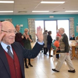 Edmond Sabot a 100 ans