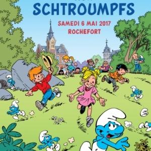 Rochefort grande chasse aux Schtroumpfs