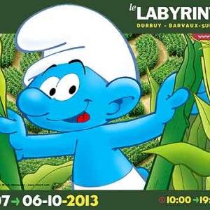 Labyrinthe Pays Schtroumpf