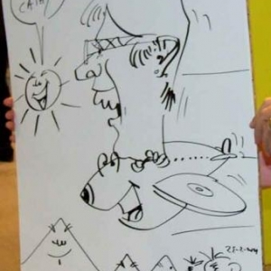 ING - caricature 8165