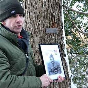 2266,petite plaque pour le soldat Frank H.NORTON Jr.