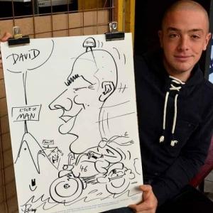 caricature JUMATT-6993