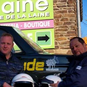 Legend Boucles 2017, Sebastien GLAUDE et Jacques GERARD