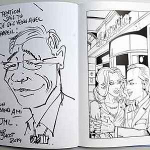 Caricature originale pour Ardenne Web Magazine