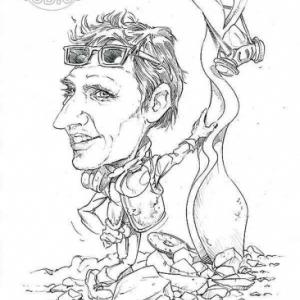 caricature de Cristobal DELGADO par Olivier Claudon