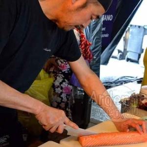 le Chef Nakahara (le Shinano, de Paris) - Epicuriales 2015-photo-5035