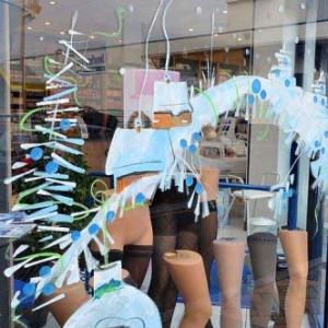 vitrine de NOEL de Jean-Marie Lesage -2000