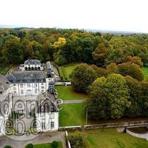 Chateau de Deulin, aerovue de Michel Lambion