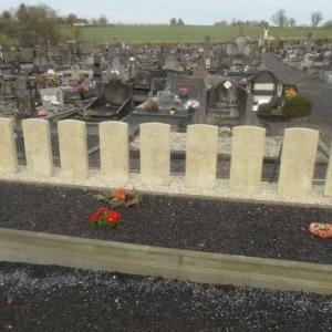 Tombes des equipages des avions de la RAF- Houffalize