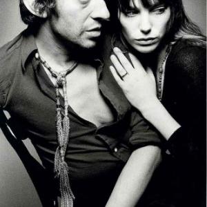 Exposition Jean-loup Sieff. Jeanloup Sieff. Serge Gainsbourg et Jane Birkin. Paris, 1970