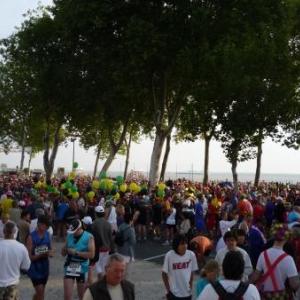 Plus de 9000 coureurs ...
