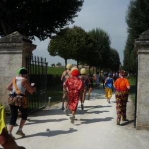 Entree dans le chateau Lafitte - Rothschild