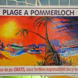 LUXEMBOURG-fresque au Knauf Center de Pommerloch