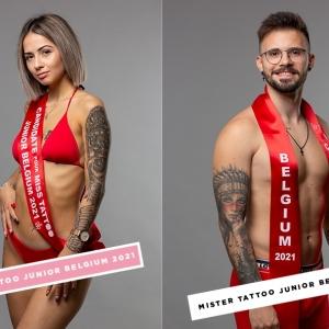 Miss & Mister Tattoo Junior Belgium 2021
