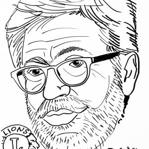 Pierre Poncelet, caricature