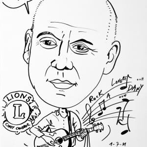 Benoit Rouard, caricature