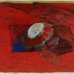 Paysage_incandescent-pastel_sur_papier-61x79_cm-1990(c)Pierre_Lahaut