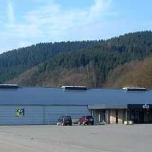 Le vaste hall de Malmedy Expo