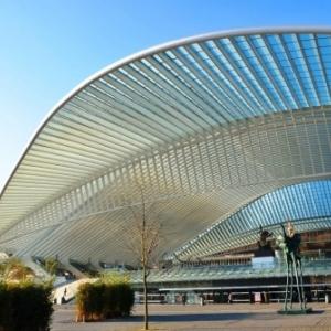 Gare Calatrava a Liege