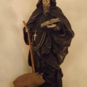 Copie de la statue de St Antoine (16eme s. )