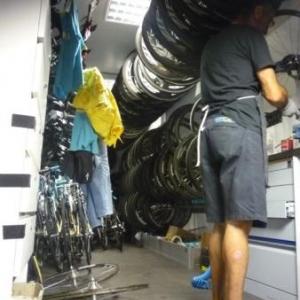 Le camion de materiels