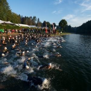 4ème édition du Belman Triathlon International  ( 300 participants )
