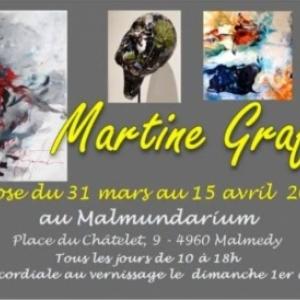 Martine GRAFFART au Malmundarium ( 1 au 15 avril 2018