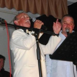 Les deux vedettes de la soiree du vendredi : Robert Kluckers et Patrick Alard