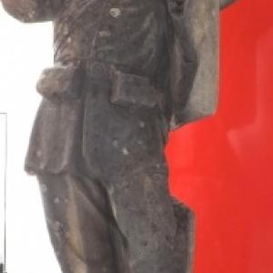 La statue du Peter Pruss qui se dressait Place de Rome