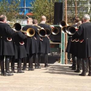 Vieux Metiers 2013 : concert de trompes de chasse